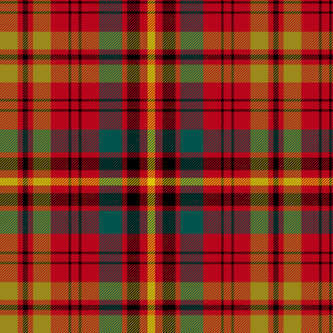 "Prince Charles Edward tartan, 6"" ancient fabric by weavingmajor on Spoonflower - custom fabric"