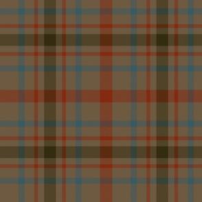 "MacDonagh tartan - 10"" weathered"