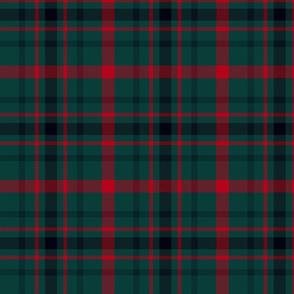 """MacDonagh tartan - 7"""" muted"""