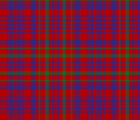 """Campbell of Loudoun plaid from portrait, 12"""" modern fabric by weavingmajor on Spoonflower - custom fabric"""