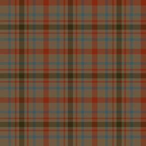 "MacDonagh tartan - 6"" weathered"