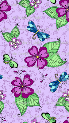 Dragonfly Lilac
