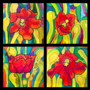 Red Poppy Tiles Belize