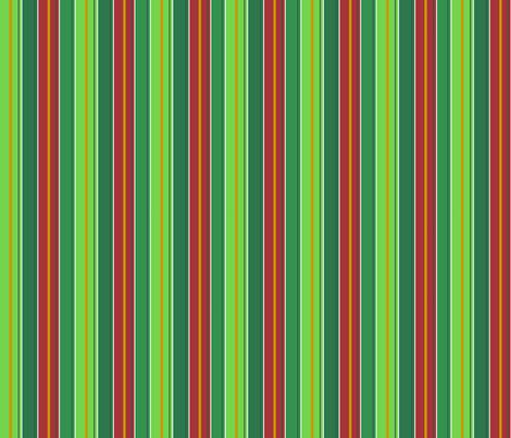 Christmas Stripes Tea Towel fabric by debgallagherdesign on Spoonflower - custom fabric