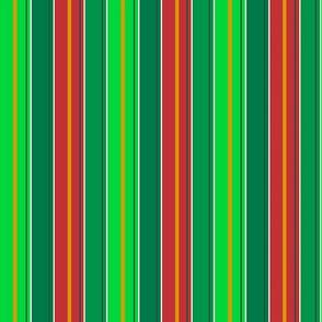 Christmas Stripes Tea Towel
