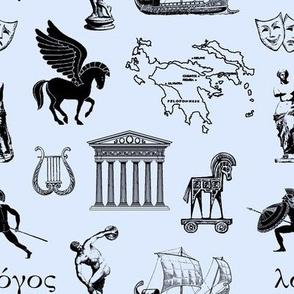 Ancient Greece // Light Blue