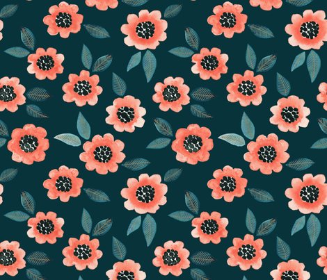 Rsimple-floral-coral-teal_shop_preview