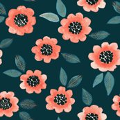 Rsimple-floral-coral-teal_shop_thumb