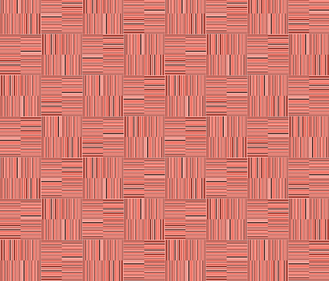 coral stripes fabric by variable on Spoonflower - custom fabric