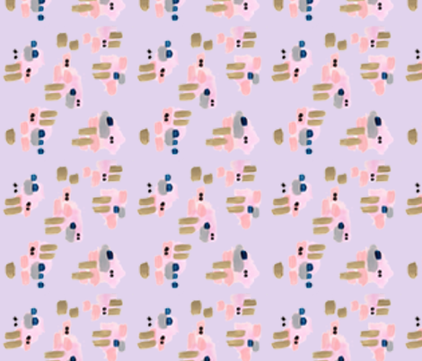 ConfettiRainWrappingPaperPurple fabric by laurafedorowicz on Spoonflower - custom fabric