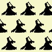Ballroom Dancers // Yellow