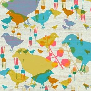 layered birds