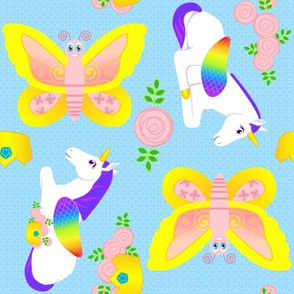Butterfly and Unicorn
