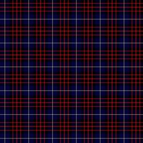 """MacKeane blue tartan, 3"""" dark"""