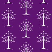 White Tree of Gondor // Purple