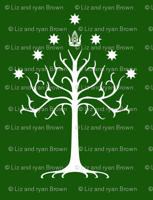 White Tree of Gondor // Green