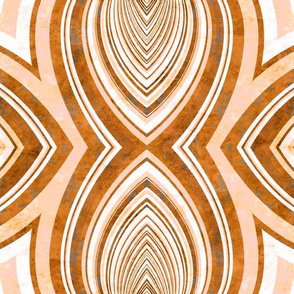 art deco orange