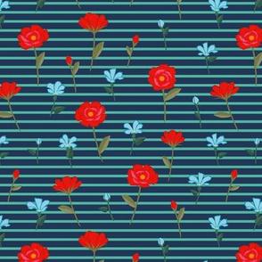Summer flower ditsy