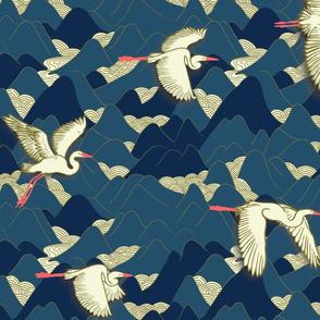 flying big birds