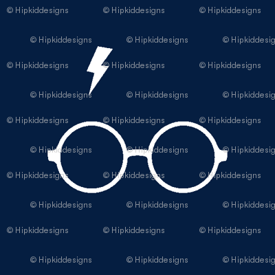 Wizard Glasses // Navy
