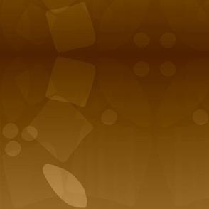 camo mirror - rust/gold