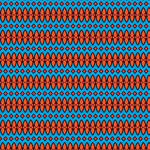 Surf Time in Turquoise and Orange