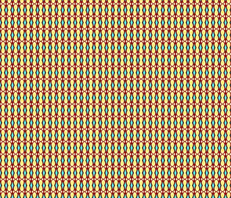 Peekaboo Turquoise fabric by vickywestover on Spoonflower - custom fabric