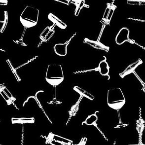 Wine Tasting // Black