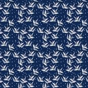 birds of paradise navy