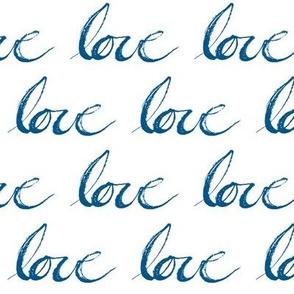 Love // Blue
