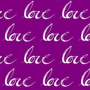 Love // Purple