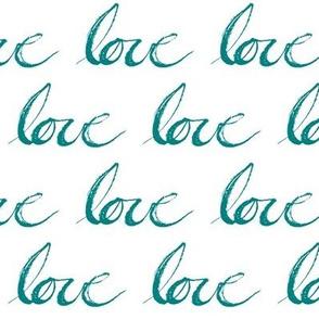 Teal // Love