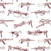 Machine Guns // Maroon