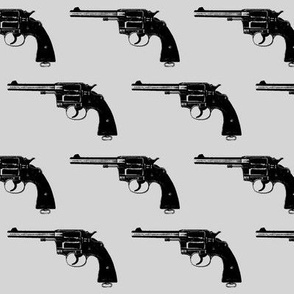 "3"" Colt Revolvers on Grey"