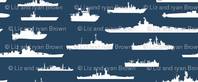 White Fleet // Navy Blue