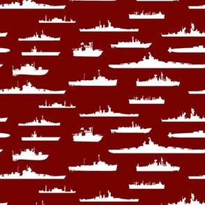 White Fleet // Burgundy