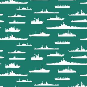 White Fleet // Aqua
