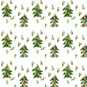 ChristmasTreeWrappingPaper