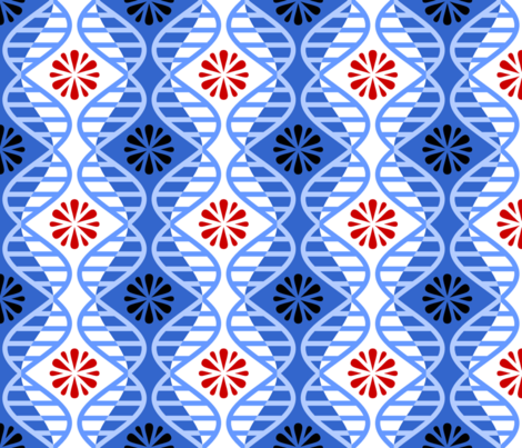07058877 : dna splatter : medical test fabric by sef on Spoonflower - custom fabric