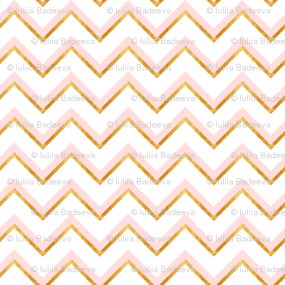 Gold and pink abstract pattern