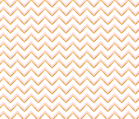 Gold and pink abstract pattern fabric by juliabadeeva on Spoonflower - custom fabric