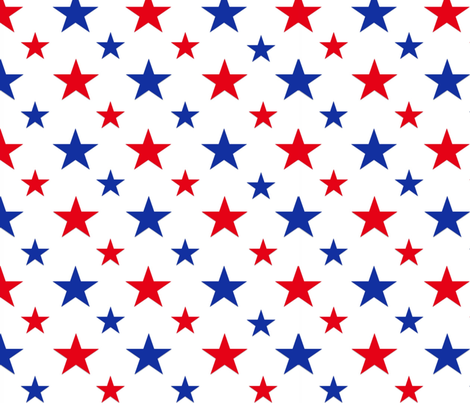 stars no stripes (large) fabric by red_dart on Spoonflower - custom fabric