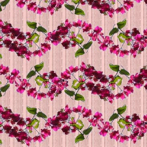 Bougainvillea Wavy Stripe in Pink