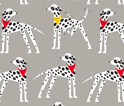 Dalmation Nation (grey)