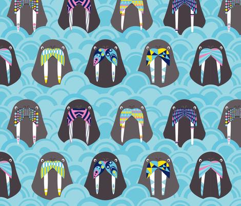 we_are_the_walruses fabric by lisahilda on Spoonflower - custom fabric