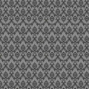 Javanese Keraton Elegant Gray Pattern