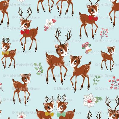 Vintage Christmas Reindeer