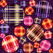 Plaid Circles