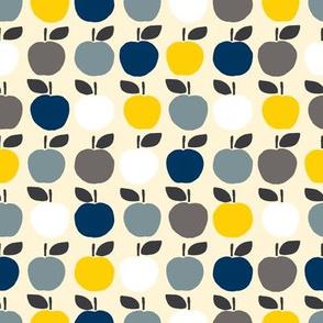 Apples - navy