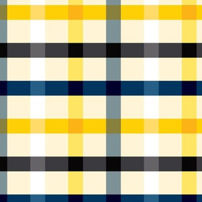 Plaid - navy